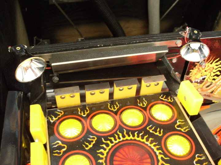 the shadow pinball machine extra led