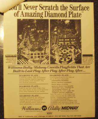 Diamond Plate flyer