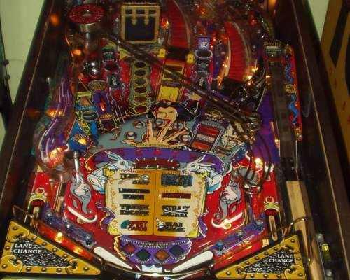 Flippers Be Customize Theatre Of Magic Pinball Machine