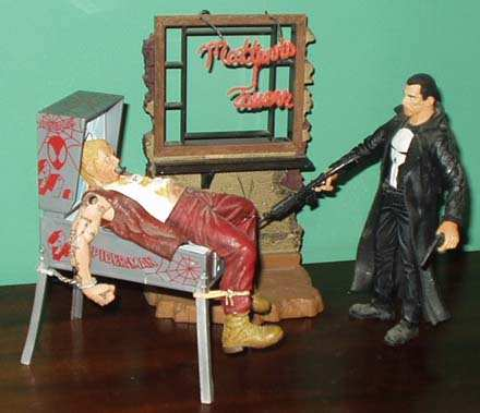 pinball statue Punisher Marvel