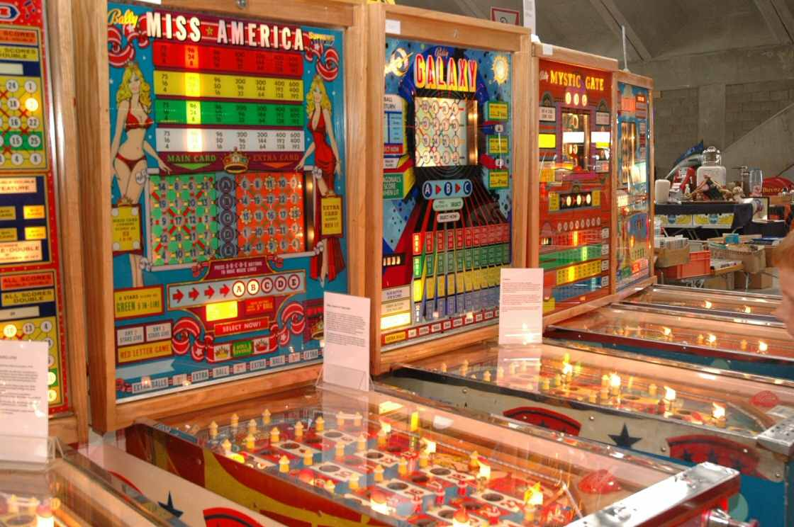 restored bingo machines miss america