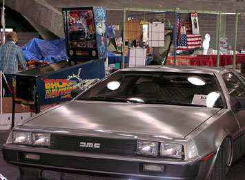DeLorean Back to the Future car