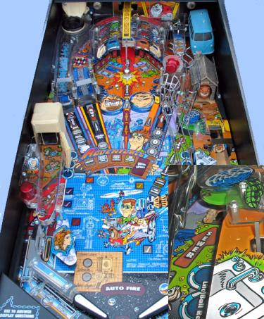 junkyard pinball machine