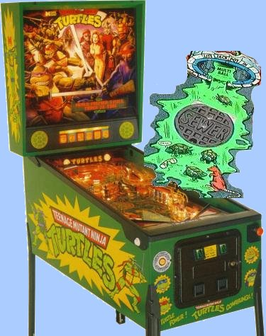 mutant turtles pinball machine