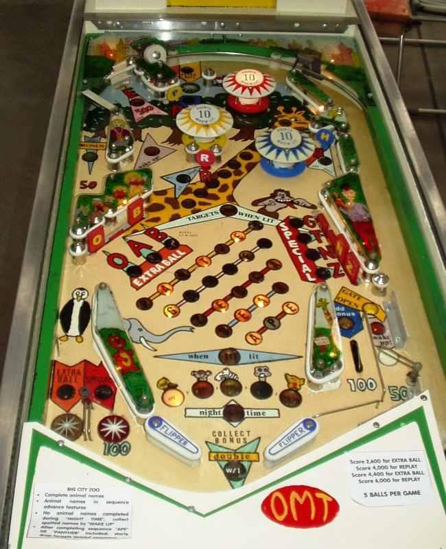 Flippers be - Big City Zoo, a custom pinball machine hand made by