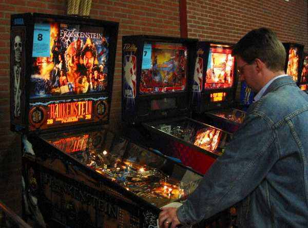 Frankenstein, NBA:Fastbreak pinball