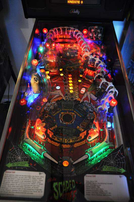 Scared Stiff playfield leds
