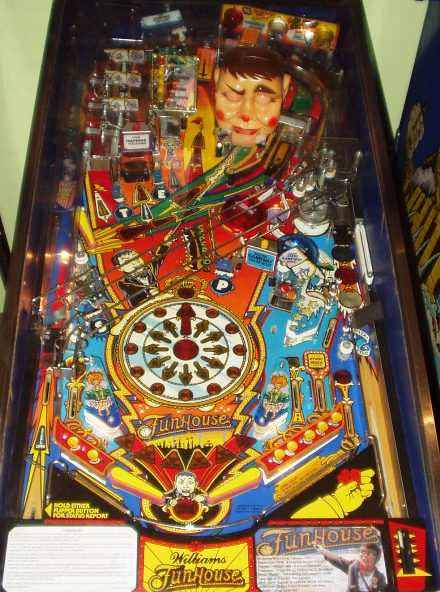 FunHouse playfield