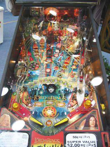 Stern Lord of the Rings playfield