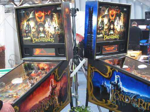 Stern Lord of the Rings pinball machines