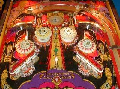 bally mata hari pinball machine for sale