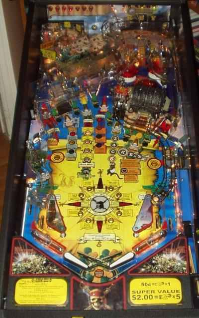 Pirates of the Caribbean playfield