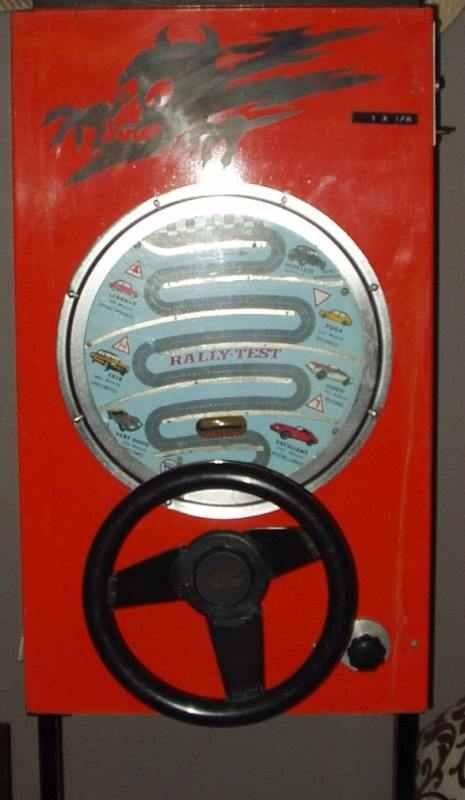retro Rally-test skillgame