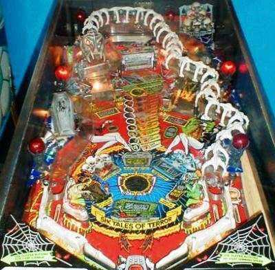 elvira scared stiff pinball machine for sale