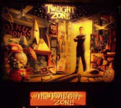 TWILIGHT ZONE Pinball game review and technical information