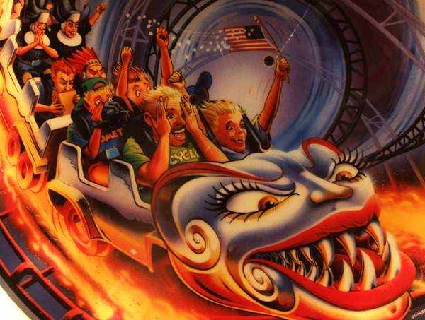 Flippers Be Hidden And Secret Artwork On Pinball Machines