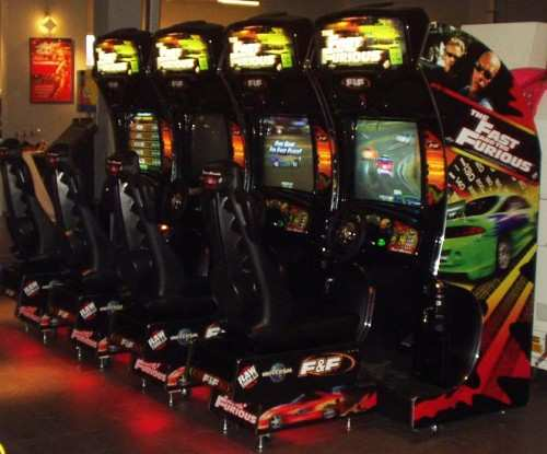 fast and the Furious arcade