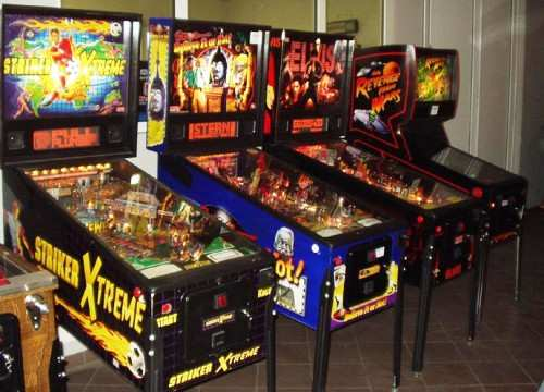 Stern pinball machines