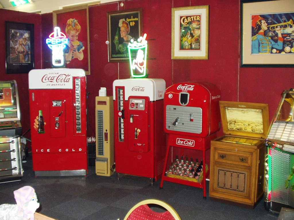 coca cola vending machines vendo