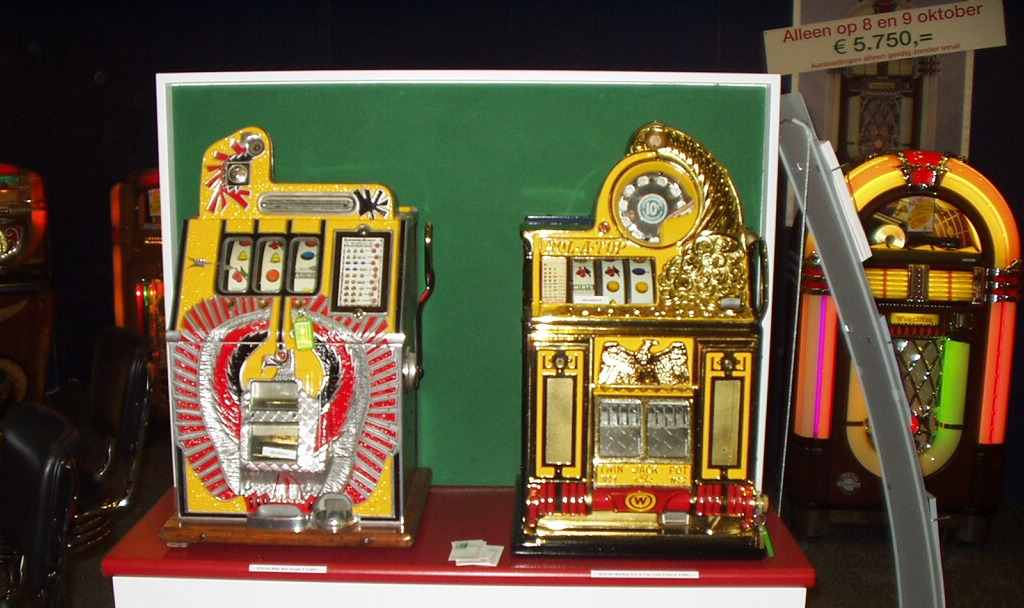 restored antique slot machines