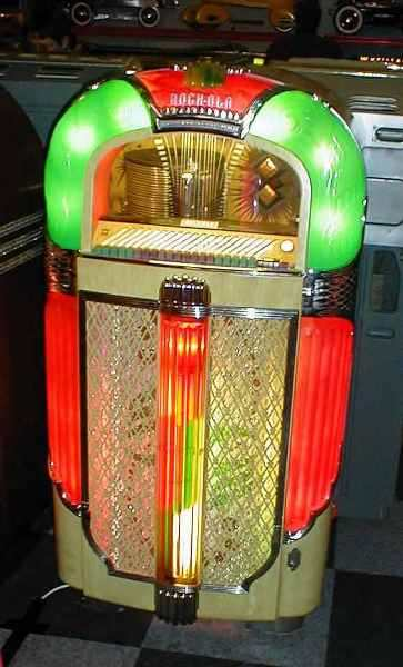 Rock-Ola jukebox