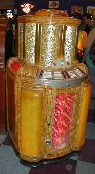 Seeburg golden jukebox
