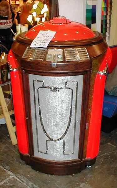Seeburg trashcan jukebox