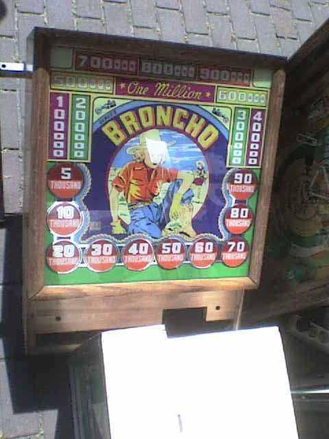 Broncho flipperkast