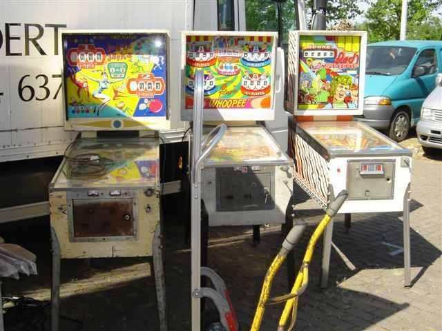 e-m pinball machines