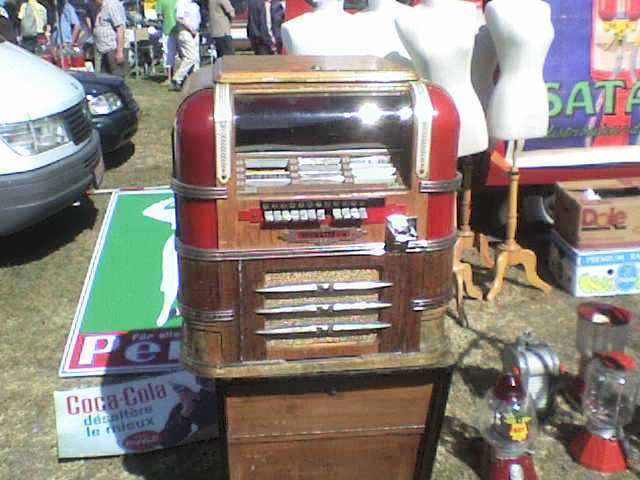 antieke Wurlitzer type 61 jukebox