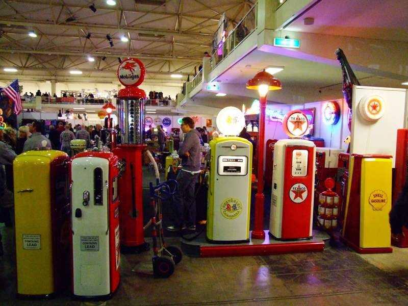 restored gas pomps