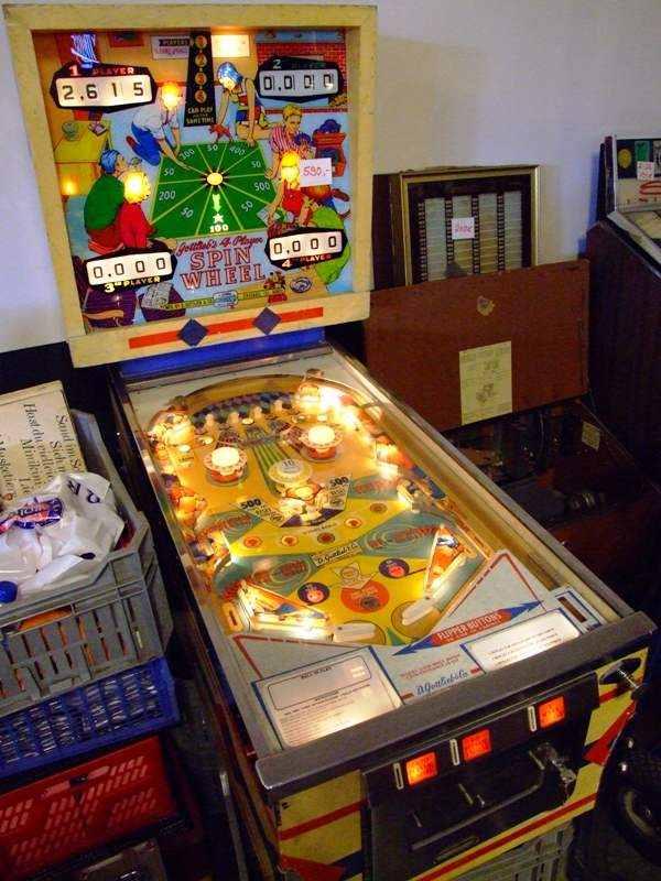Gottlieb Spin Wheel pinball machine