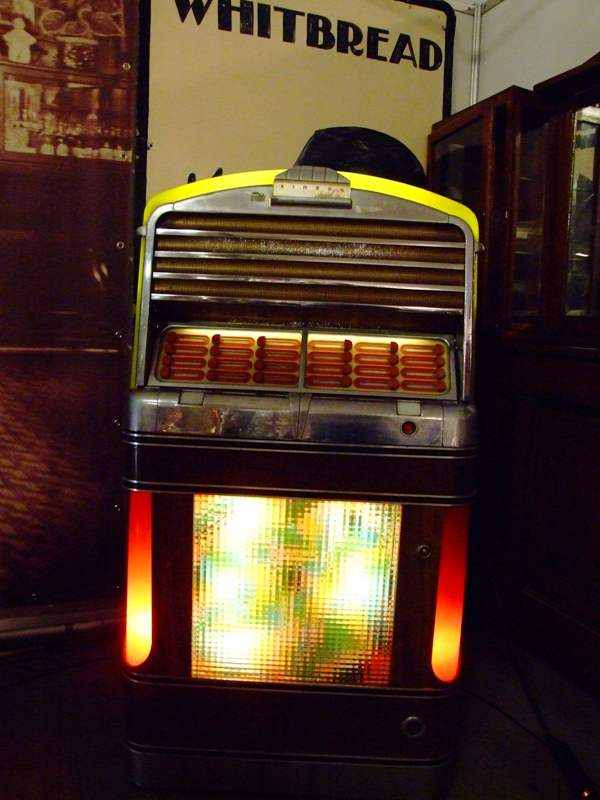 antieke jukebox