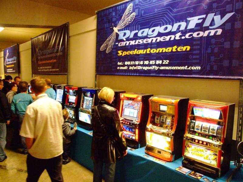 Pashinko machines from DragonFly amusement