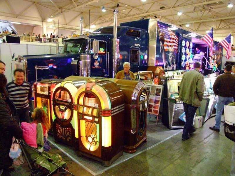 Pauls fifties with Kenworth truck
