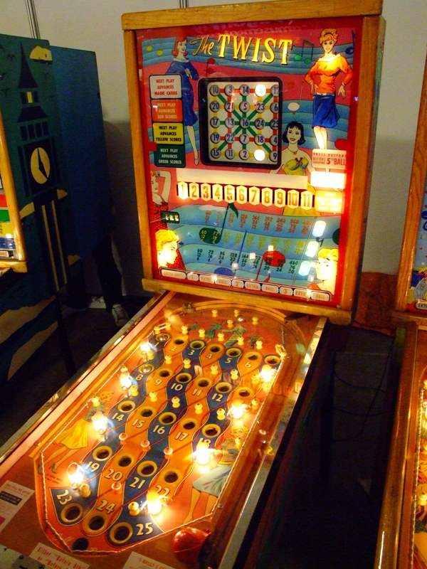 The Twist bingo machine