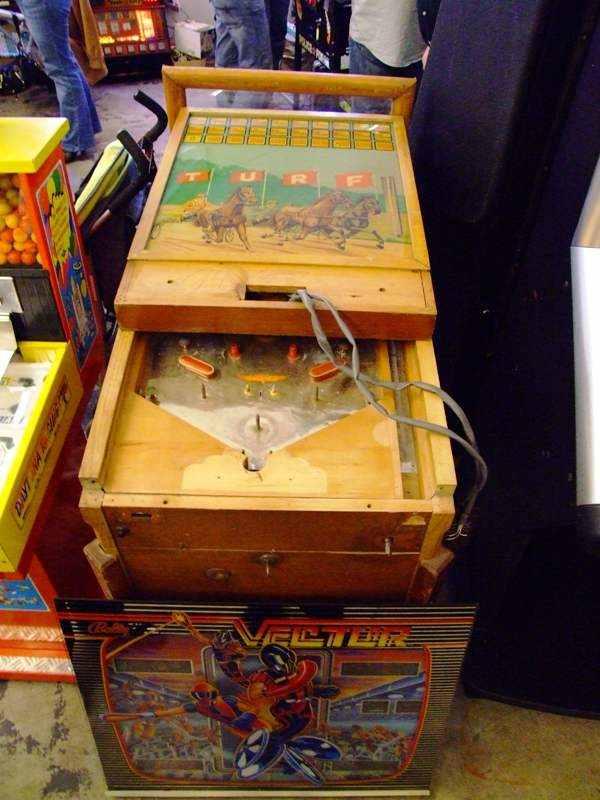 TURF pinball machine