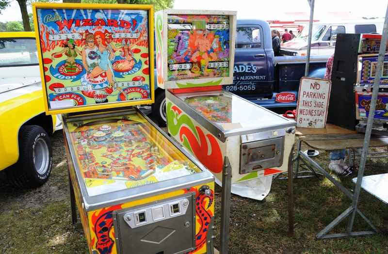 Bally Wizard pinball machine