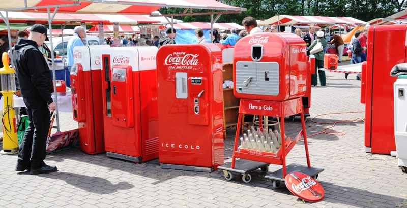 Coca-Cola vending machines