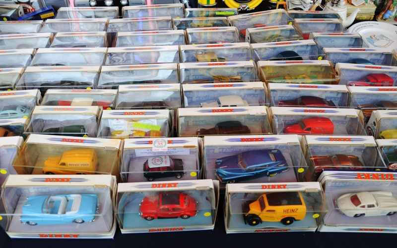 new in box dinky toys car collection