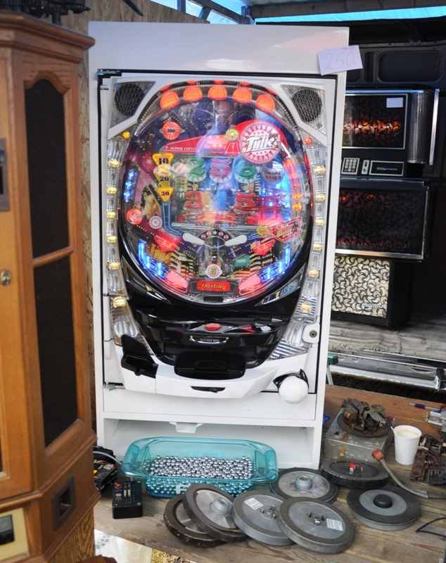 japanese pinball pachinko machine