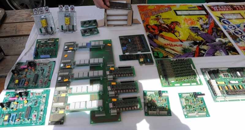 pinball pcbs, Recel, Game Plan