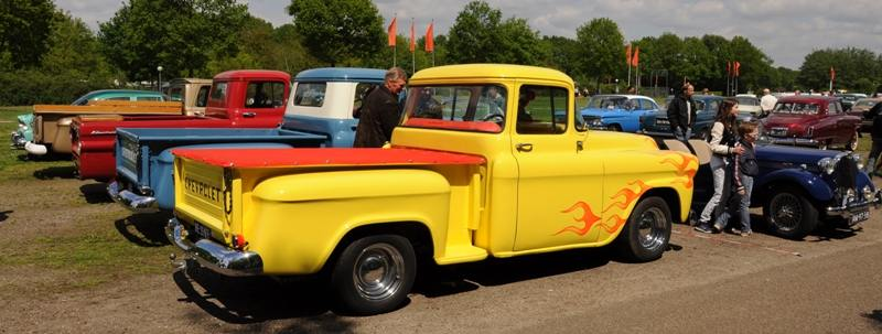 american chevrolet pickups