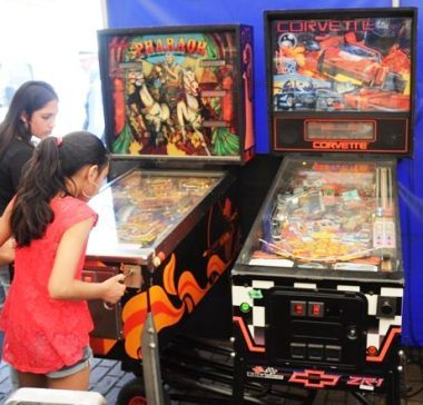 Pinball girls