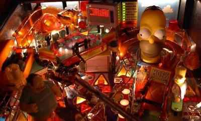 Stern Simpsons Pinball Party pinball machine