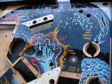 clearcoated playfield