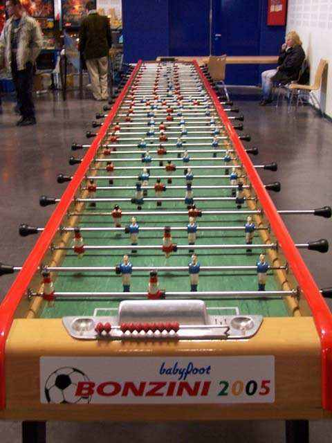 large foosball table