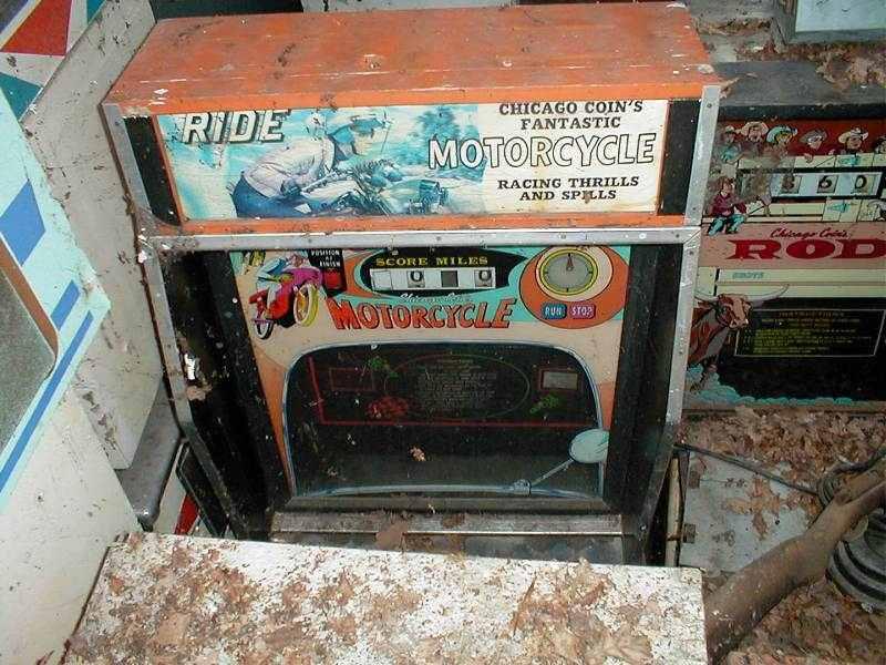 Chicago Coin Motorcycle arcade game