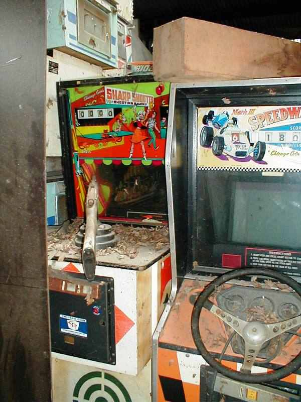 Sharpshooter and Speedway arcade game
