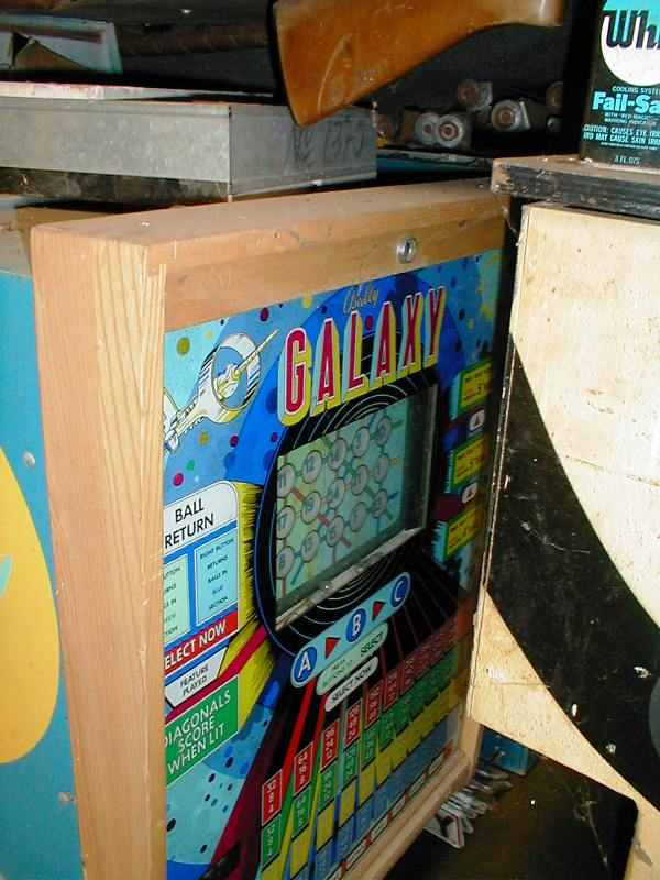 Bally Galaxy bingo